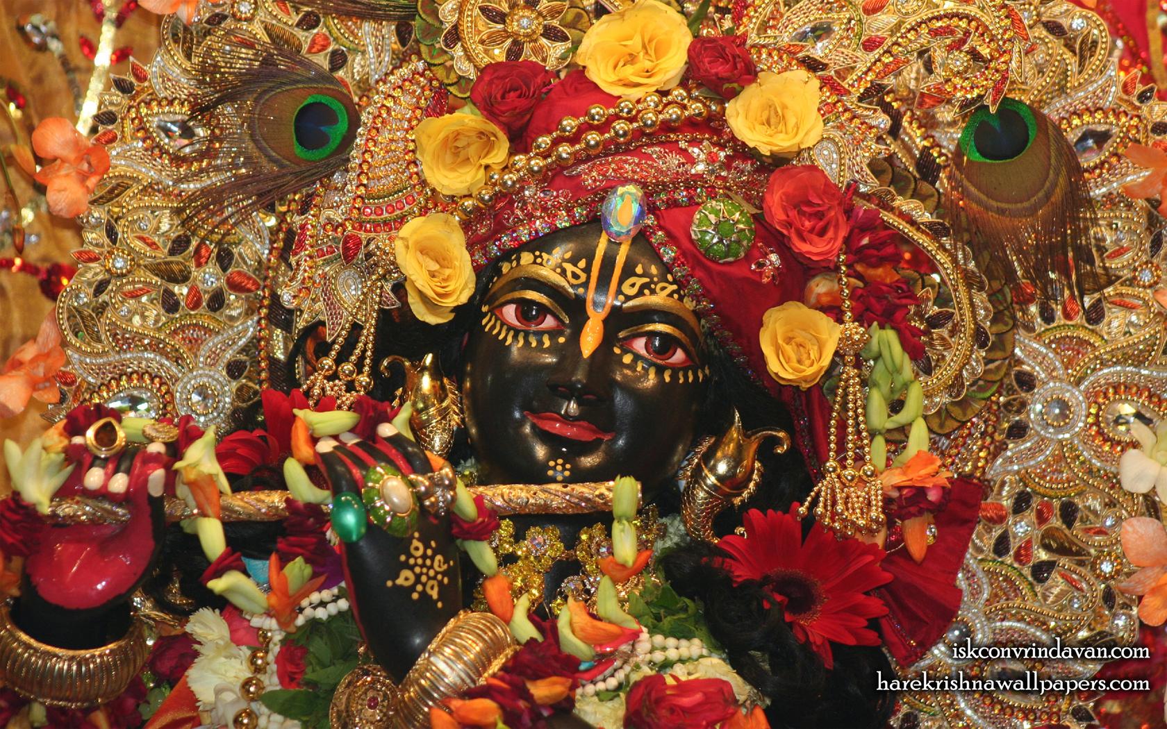 Sri Shyamsundar Close up Wallpaper (012) Size 1680x1050 Download