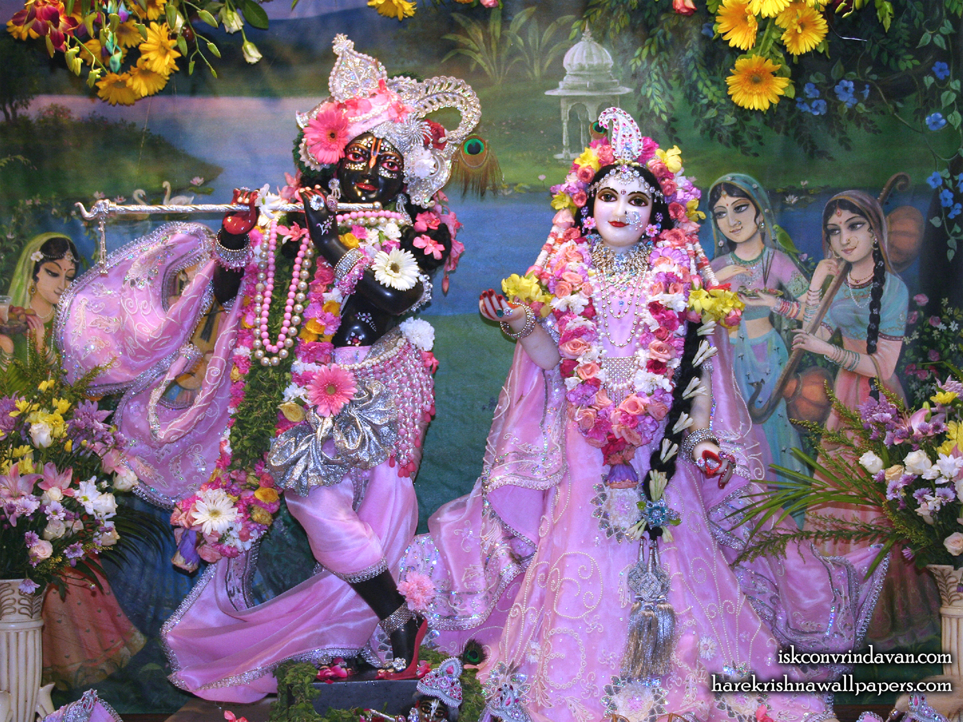 Sri Sri Radha Shyamsundar Wallpaper (012) Size 1400x1050 Download