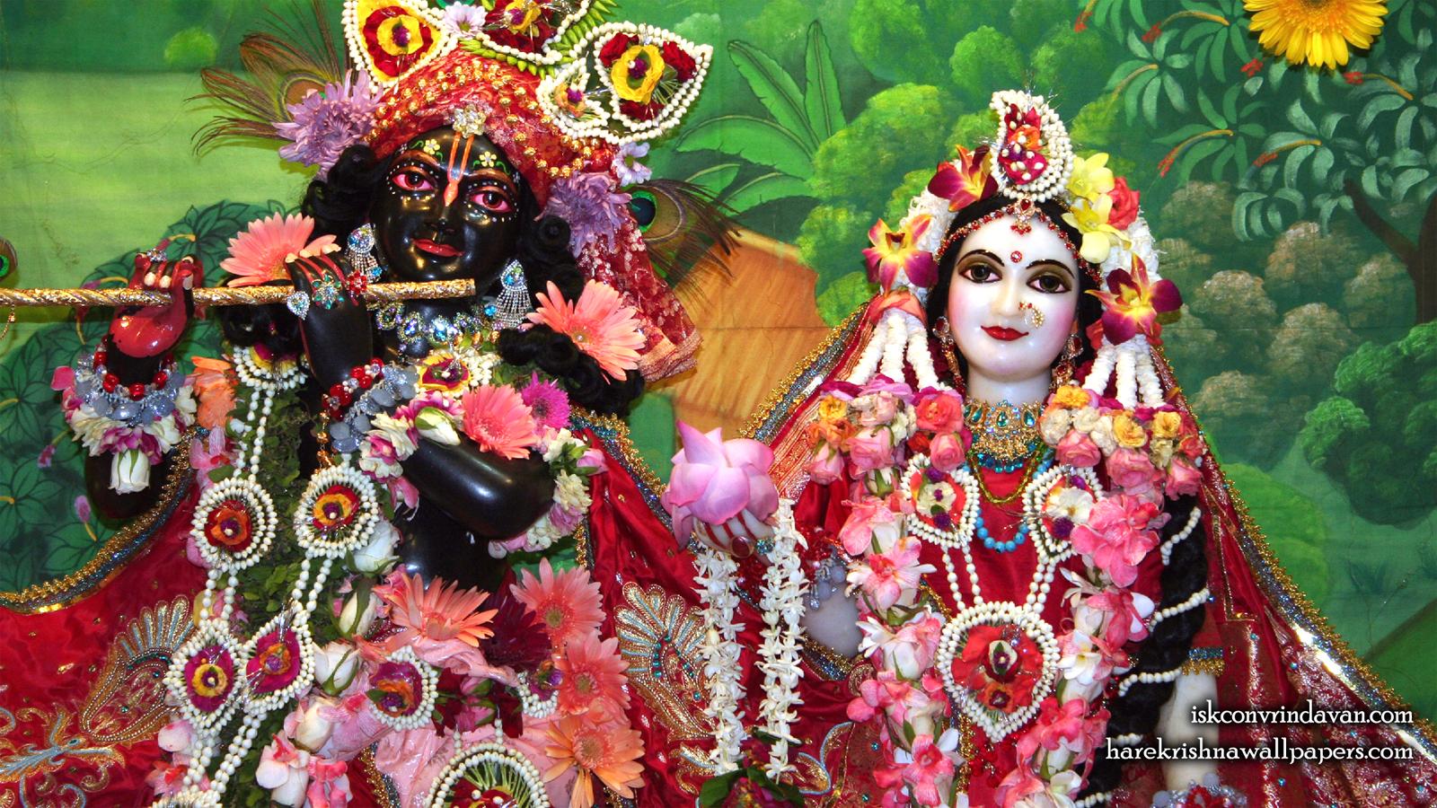 Sri Sri Radha Shyamsundar Close up Wallpaper (012) Size 1600x900 Download