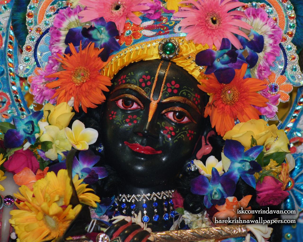 Sri Krishna Close up Wallpaper (013) Size 1280x1024 Download