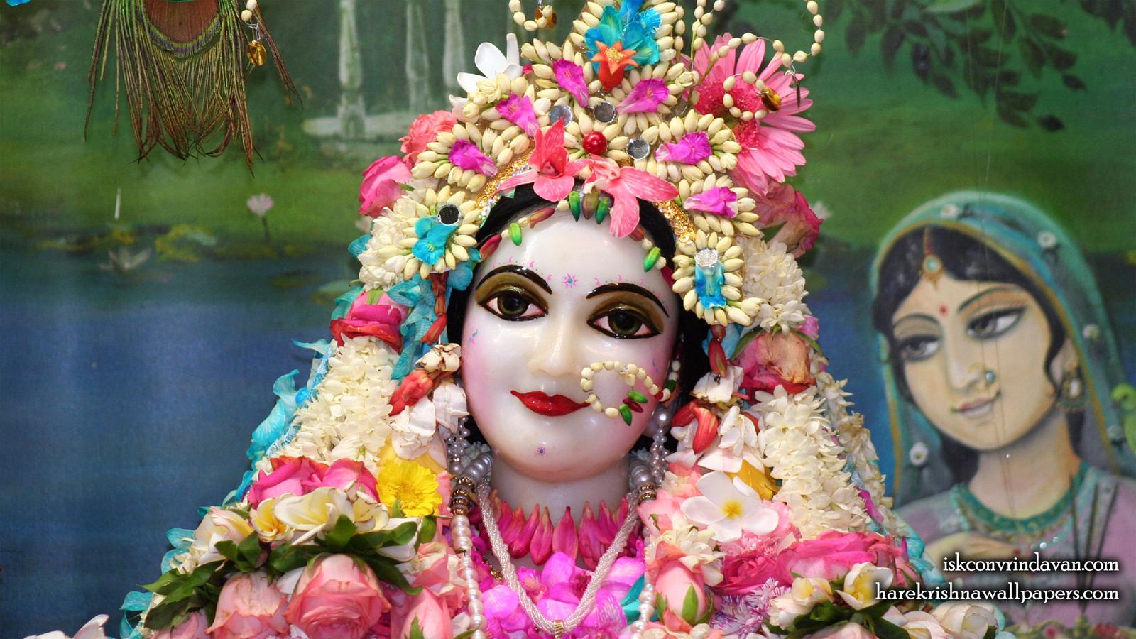 Sri Radha Close up Wallpaper (013) Size 1600x900 Download