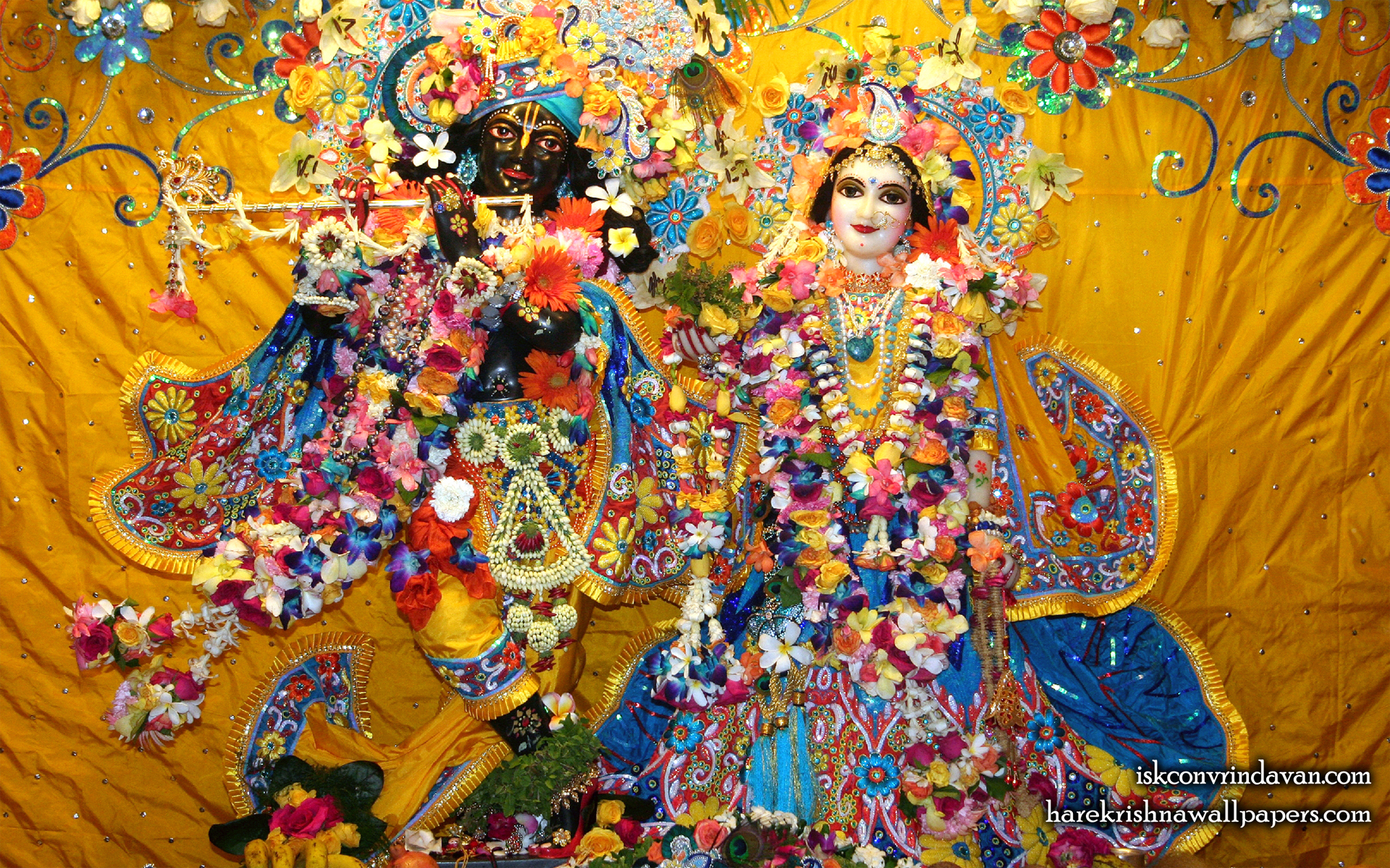 Sri Sri Radha Shyamsundar Wallpaper (013) Size 1920x1200 Download
