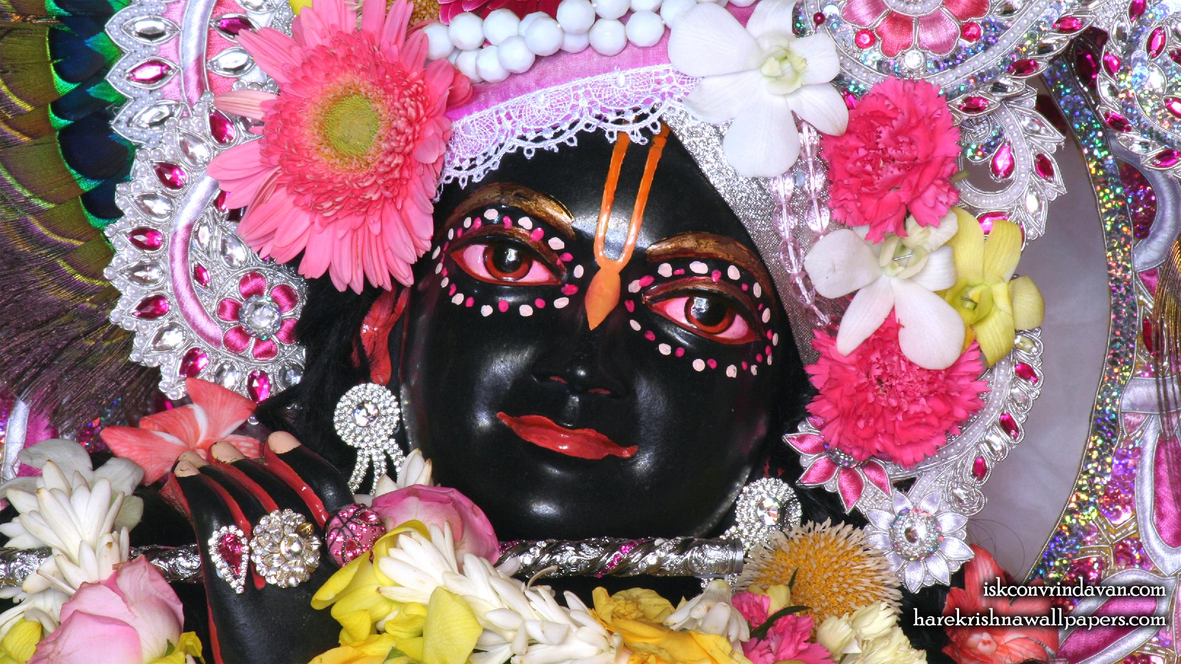 Sri Shyamsundar Close up Wallpaper (014) Size 2400x1350 Download