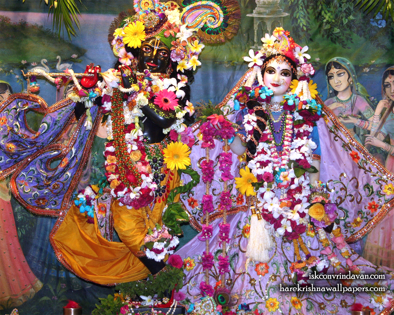 Sri Sri Radha Shyamsundar Wallpaper (014) Size 1280x1024 Download