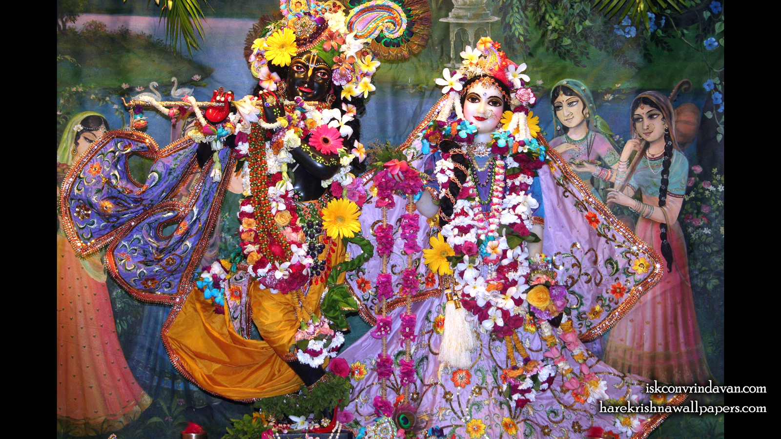 Sri Sri Radha Shyamsundar Wallpaper (014) Size 1600x900 Download
