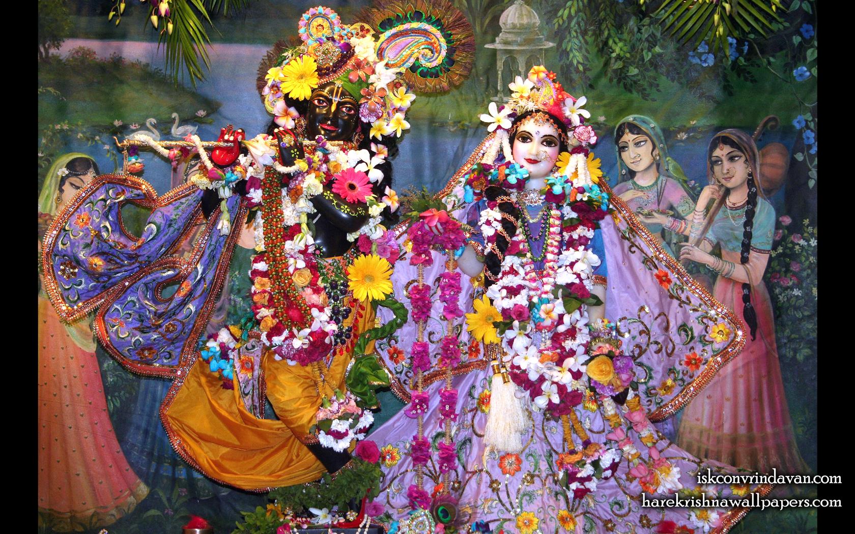 Sri Sri Radha Shyamsundar Wallpaper (014) Size 1680x1050 Download
