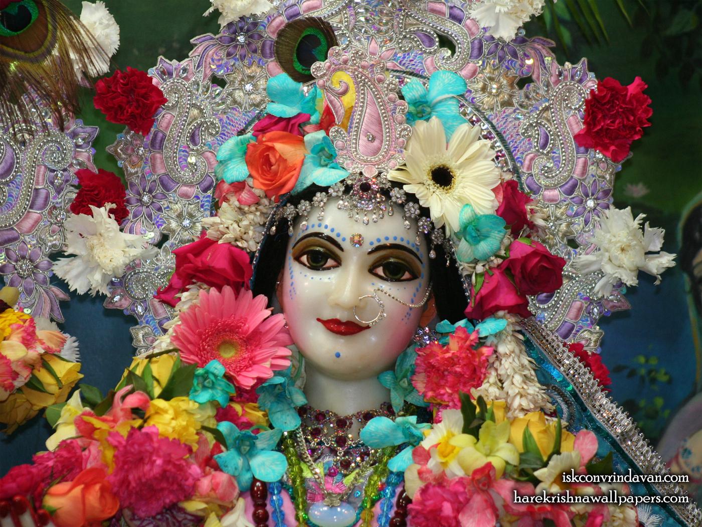 Sri Radha Close up Wallpaper (015) Size 1400x1050 Download