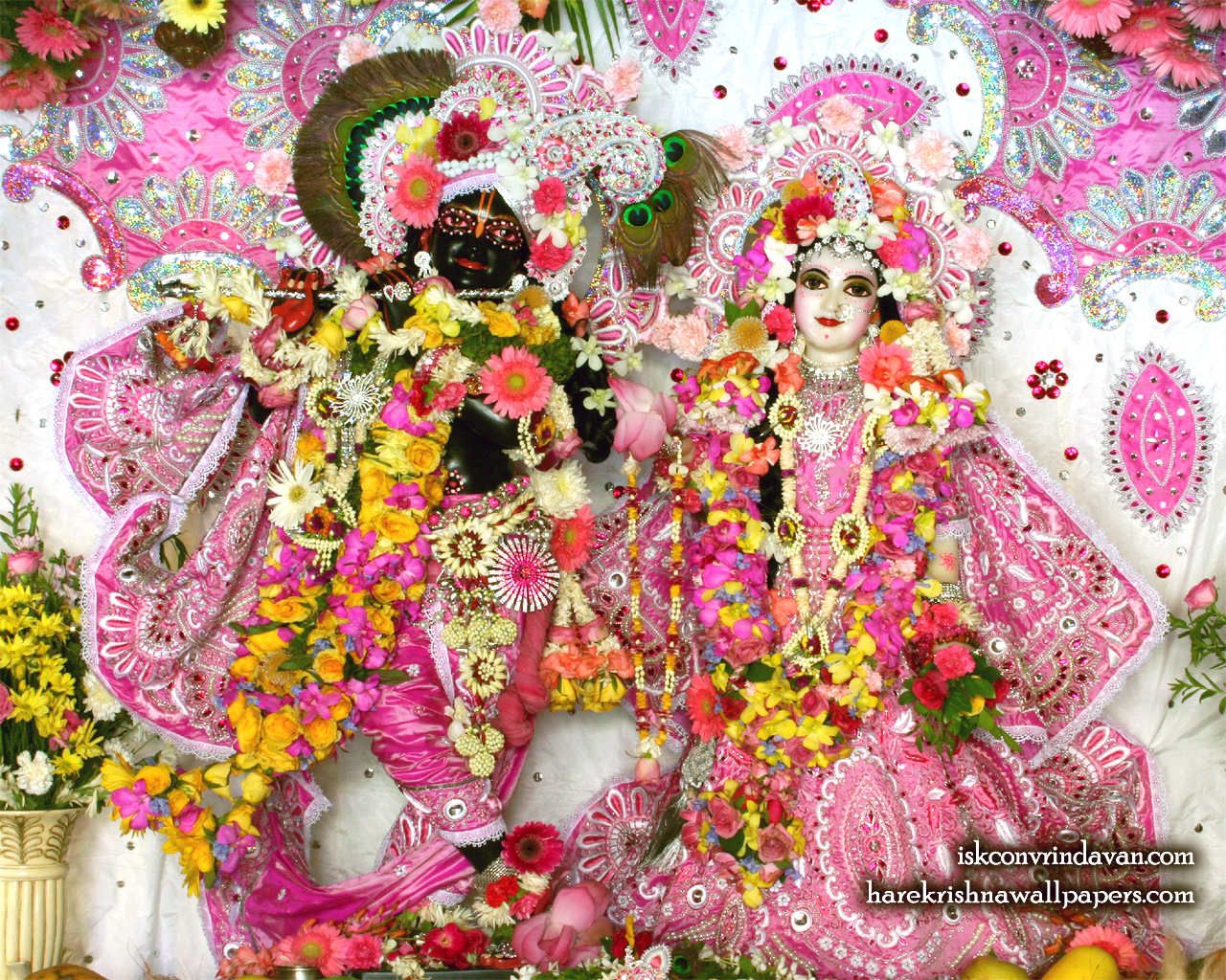 Sri Sri Radha Shyamsundar Wallpaper (015) Size 1280x1024 Download