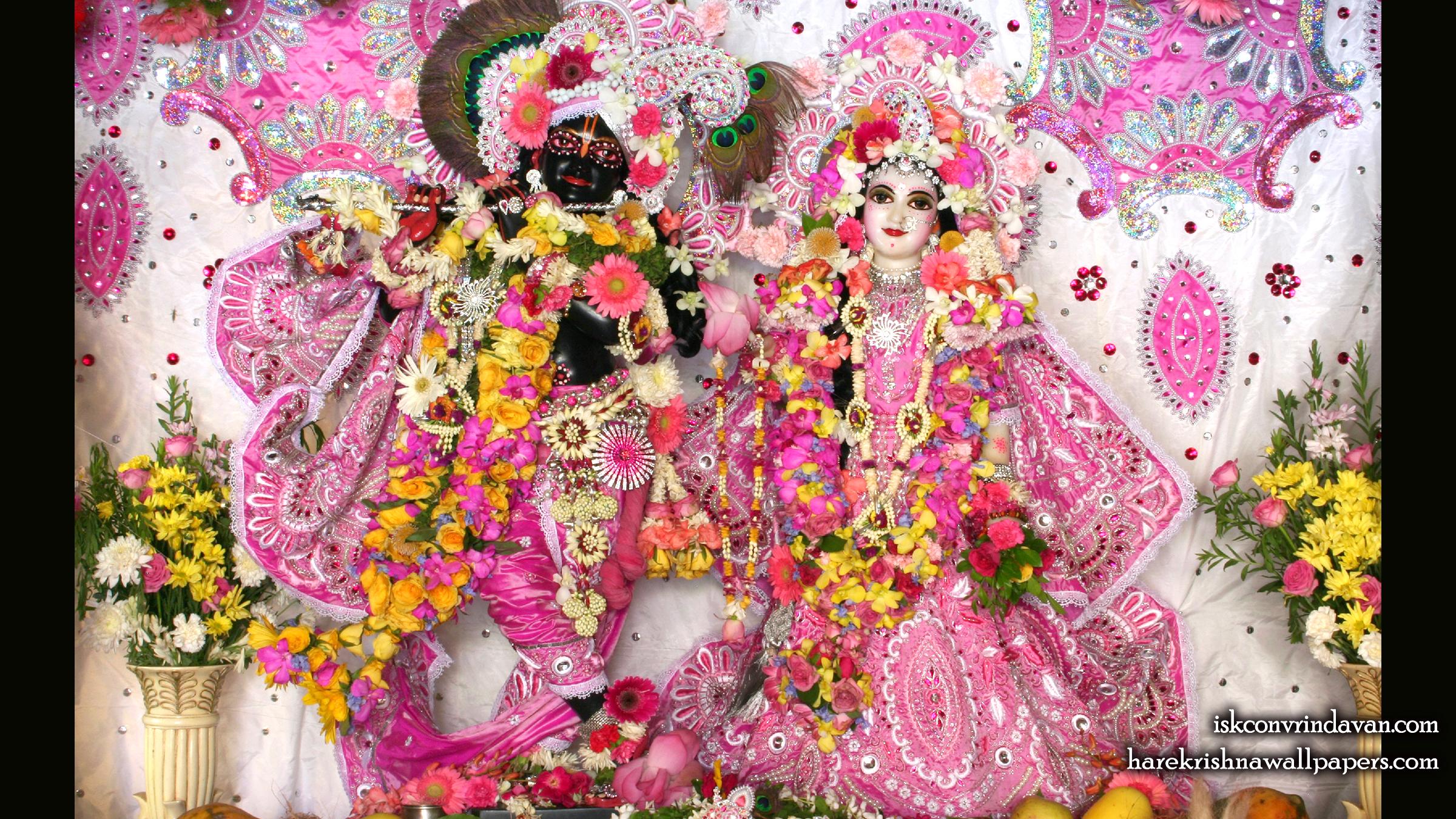 Sri Sri Radha Shyamsundar Wallpaper (015) Size 2400x1350 Download