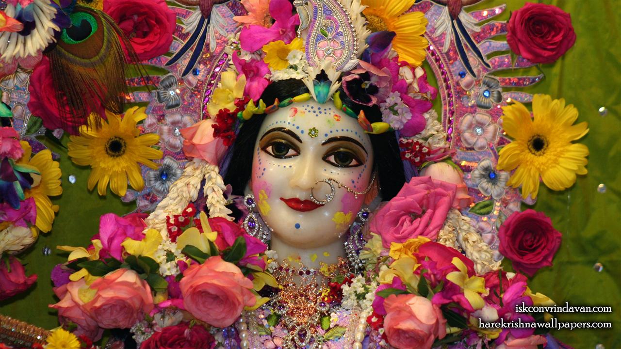 Sri Radha Close up Wallpaper (016) Size1280x720 Download
