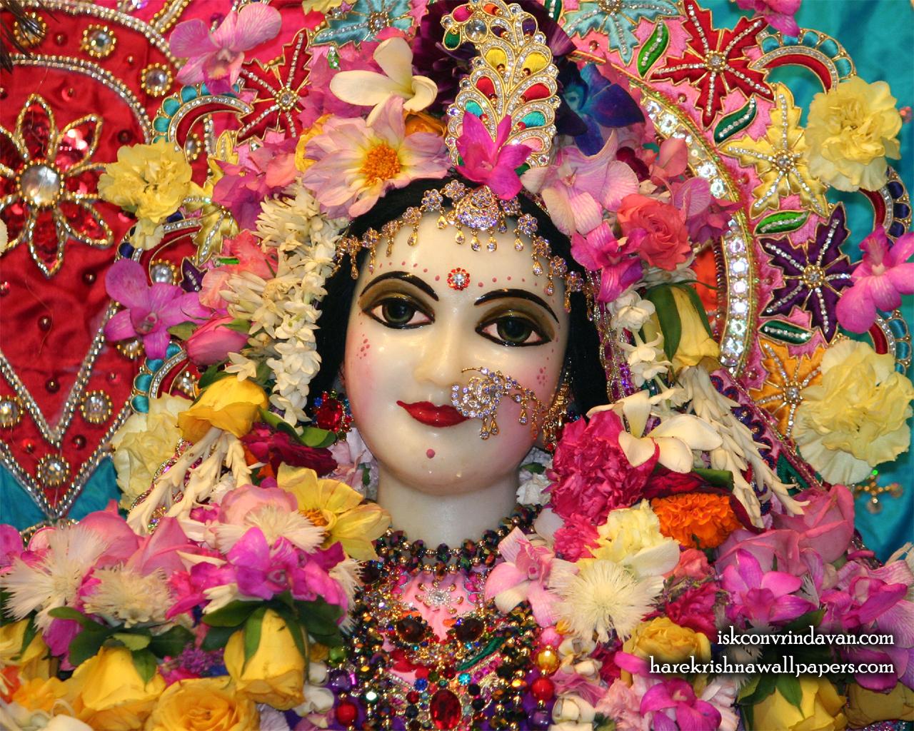 Sri Radha Close up Wallpaper (017) Size 1280x1024 Download