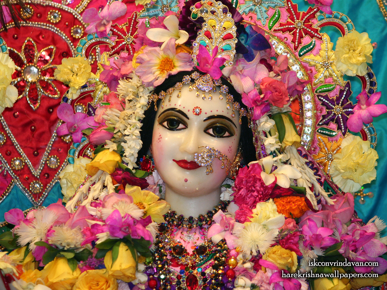 Sri Radha Close up Wallpaper (017) Size 1280x960 Download