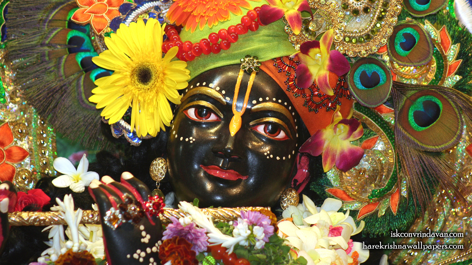 Sri Shyamsundar Close up Wallpaper (017) Size 1600x900 Download