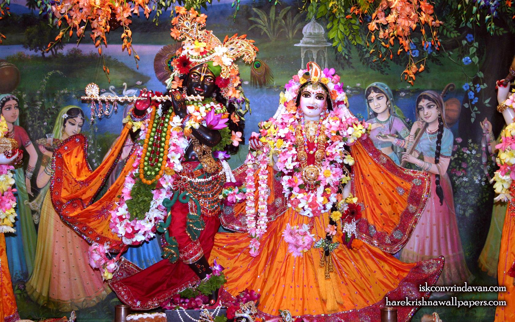 Sri Sri Radha Shyamsundar Wallpaper (017) Size 1680x1050 Download