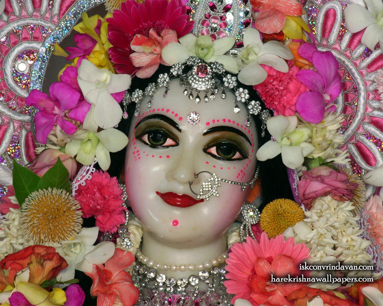 Sri Radha Close up Wallpaper (019) Size 1280x1024 Download