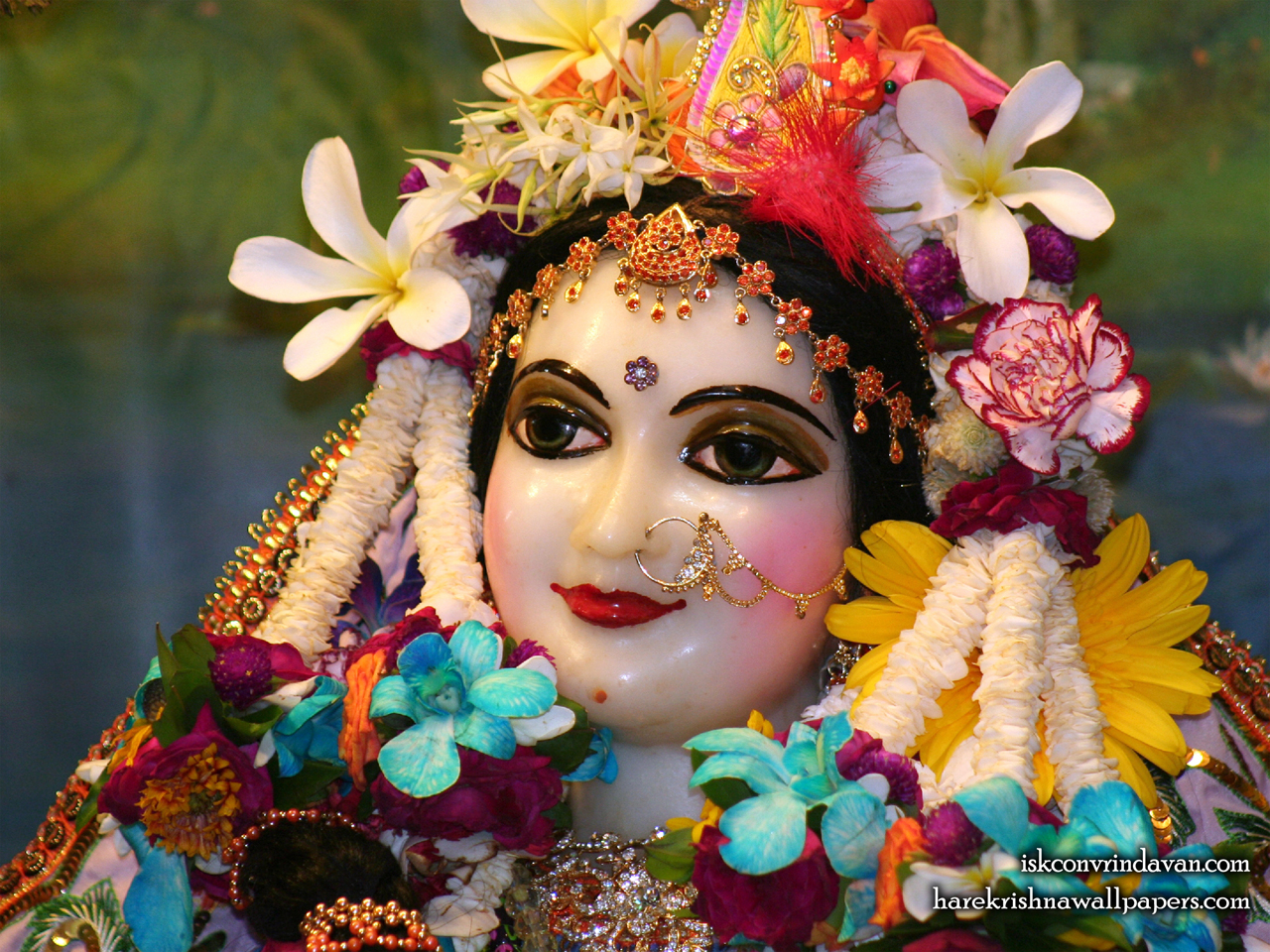 Sri Radha Close up Wallpaper (020) Size 1280x960 Download
