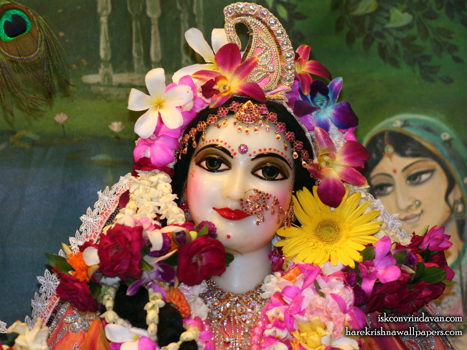 Sri Radha Close up Wallpaper (022) Size 1920x1440 Download