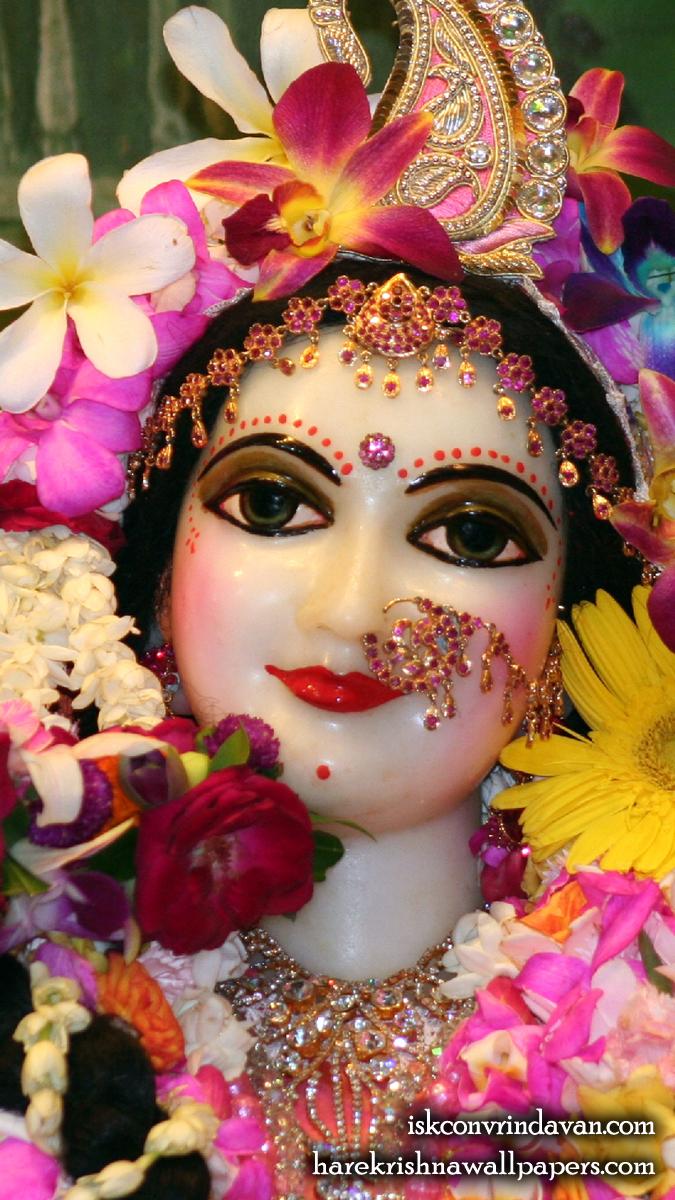 Sri Radha Close up Wallpaper (022) Size 675x1200 Download