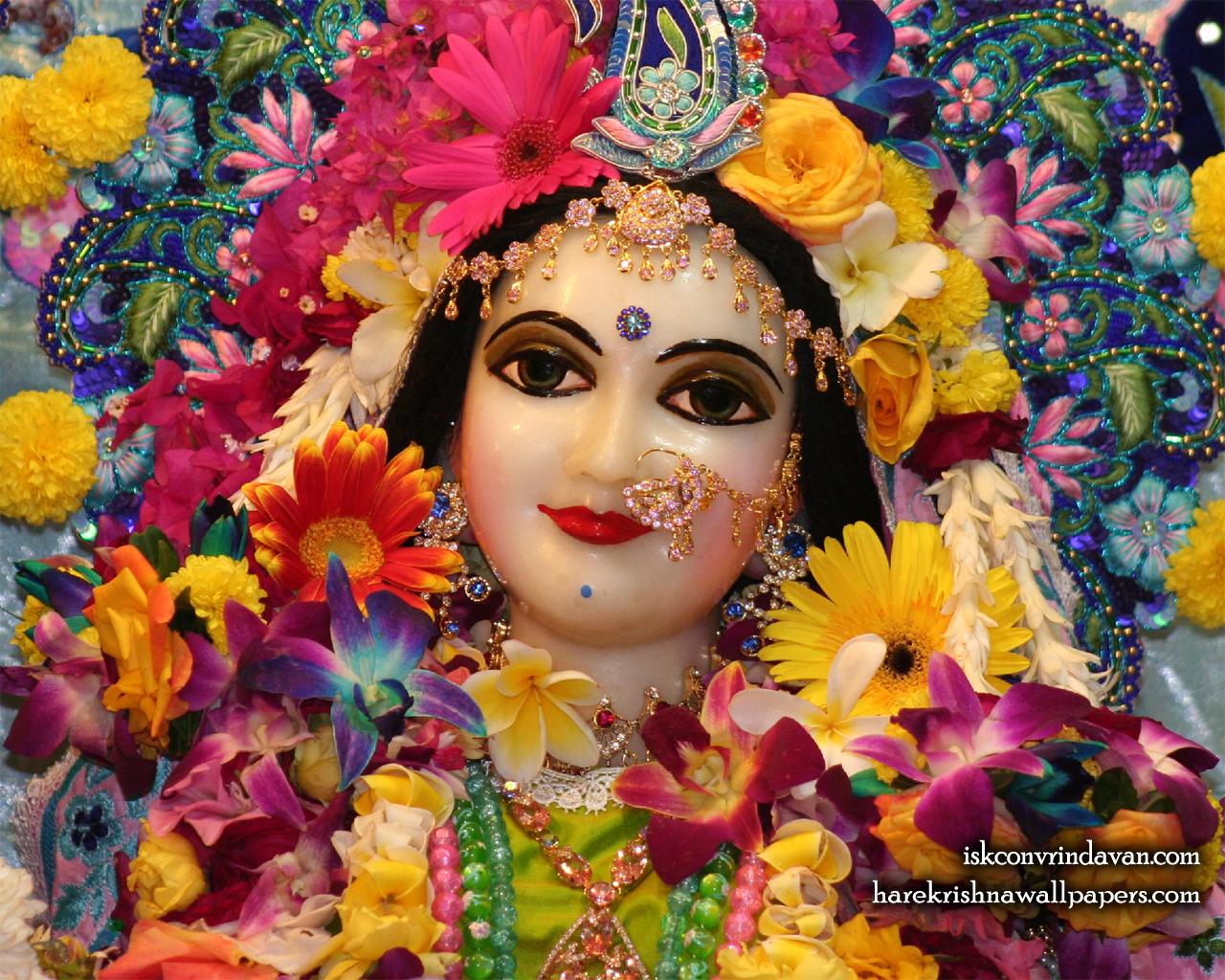 Sri Radha Close up Wallpaper (023) Size 1280x1024 Download
