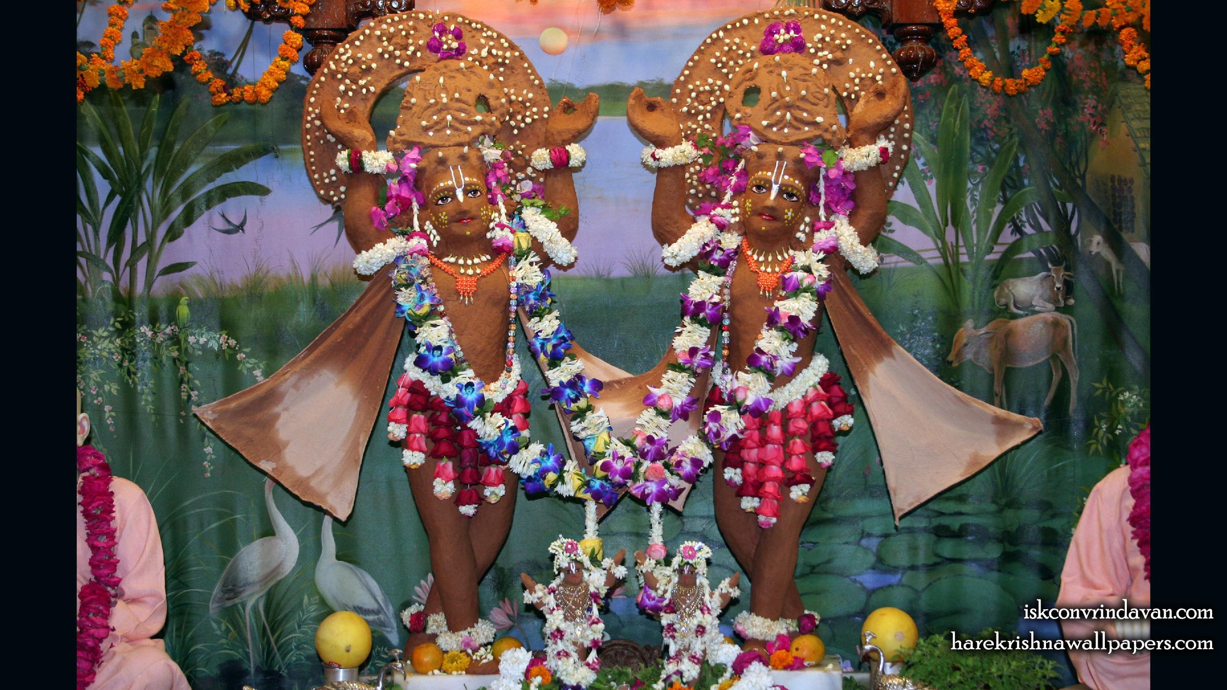 Sri Sri Gaura Nitai Wallpaper (084) Size 2400x1350 Download