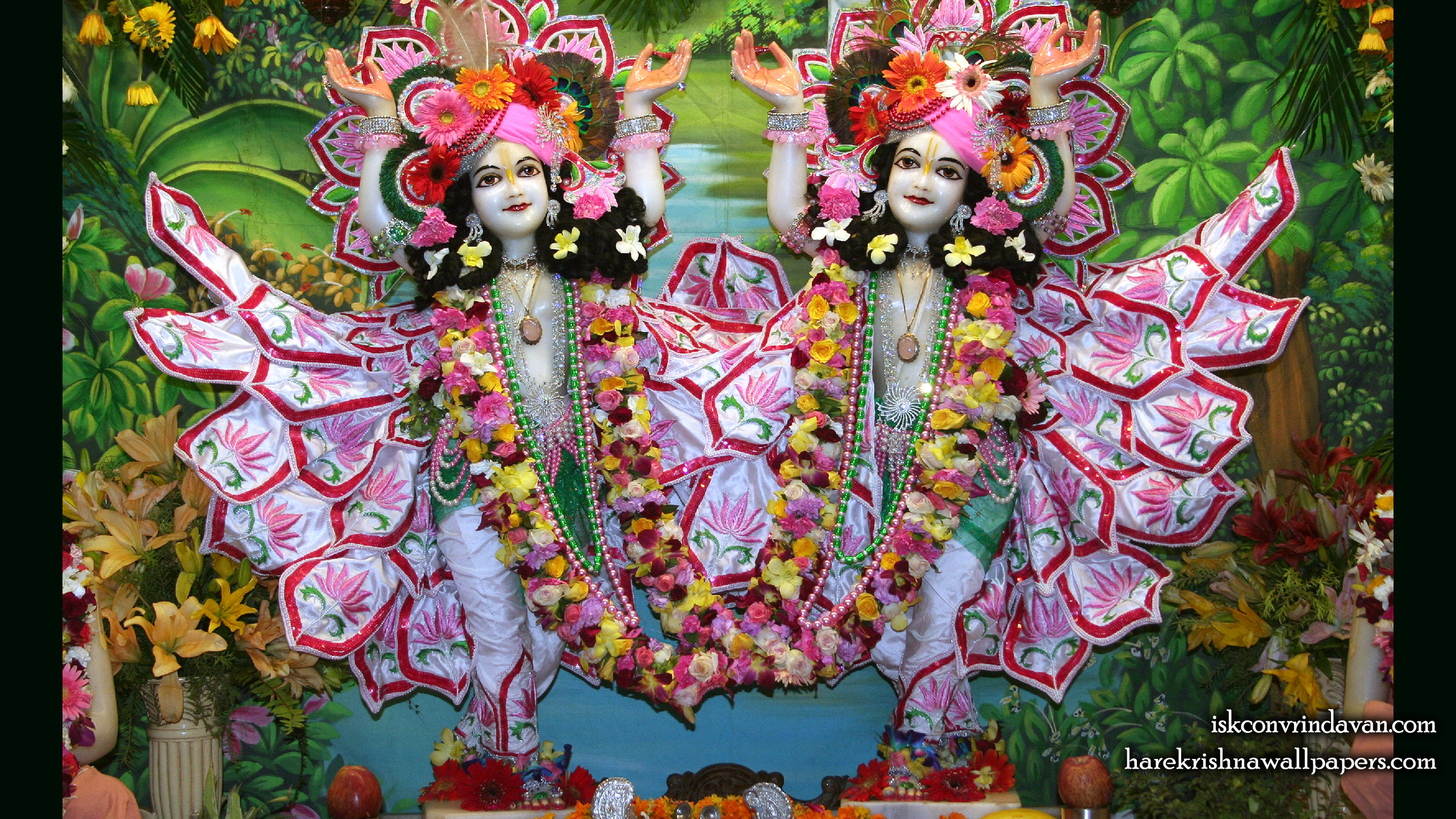 Sri Sri Gaura Nitai Wallpaper (085) Size 2400x1350 Download
