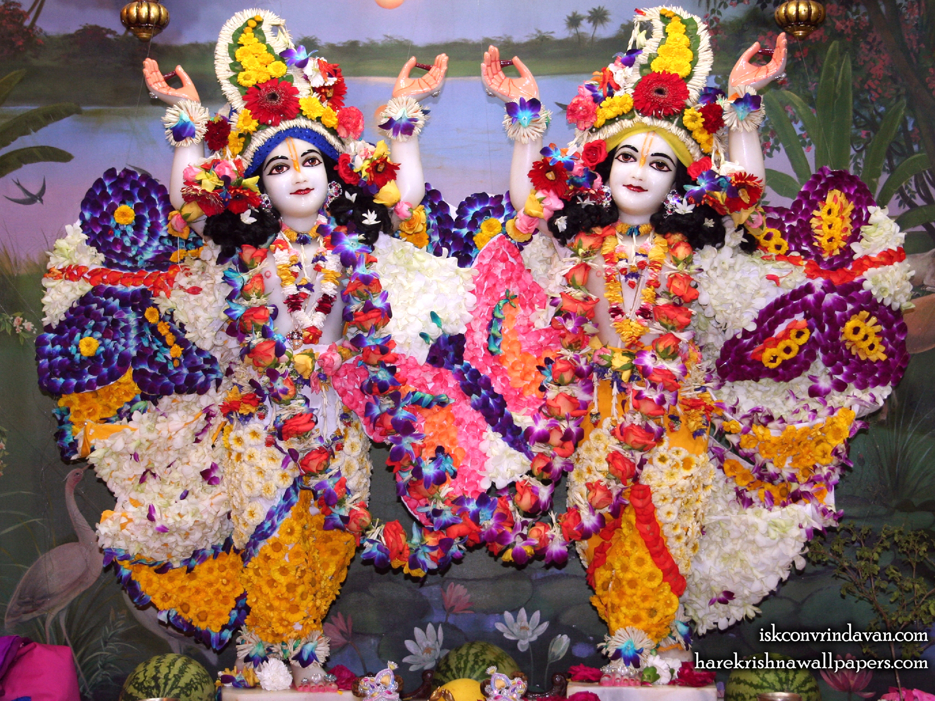 Sri Sri Gaura Nitai Wallpaper (088) Size 1920x1440 Download
