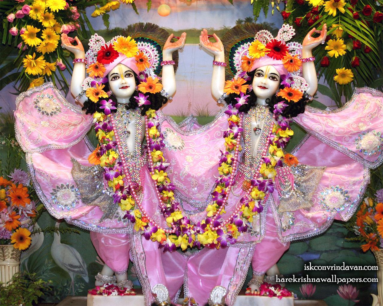 Sri Sri Gaura Nitai Wallpaper (090) Size 1280x1024 Download