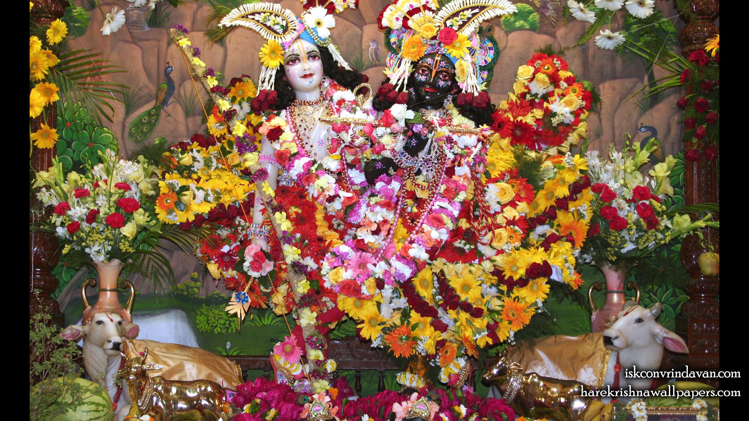 Sri Sri Krishna Balaram Wallpaper (106) Size 2400x1350 Download