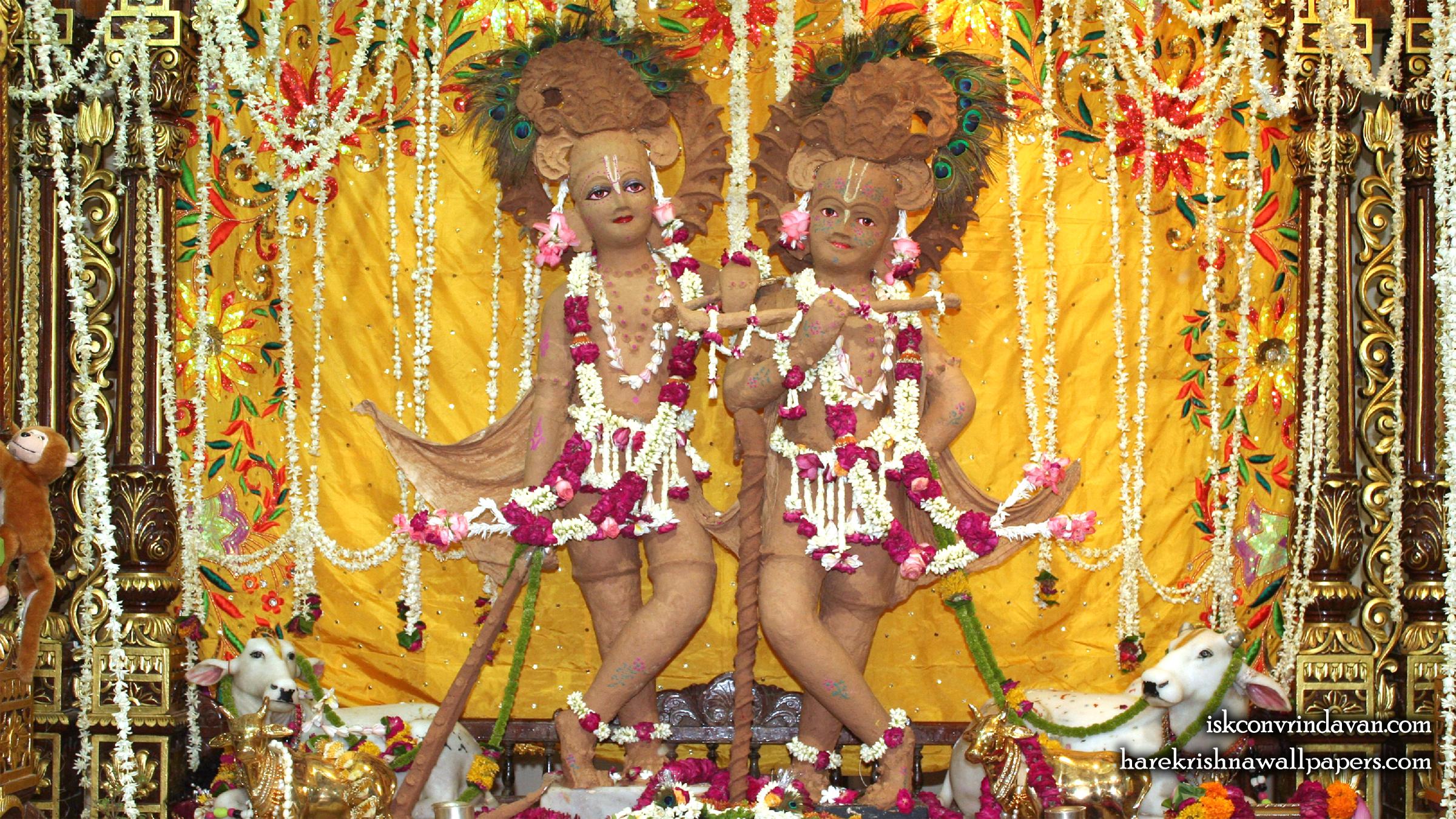 Sri Sri Krishna Balaram Wallpaper (110) Size 2400x1350 Download