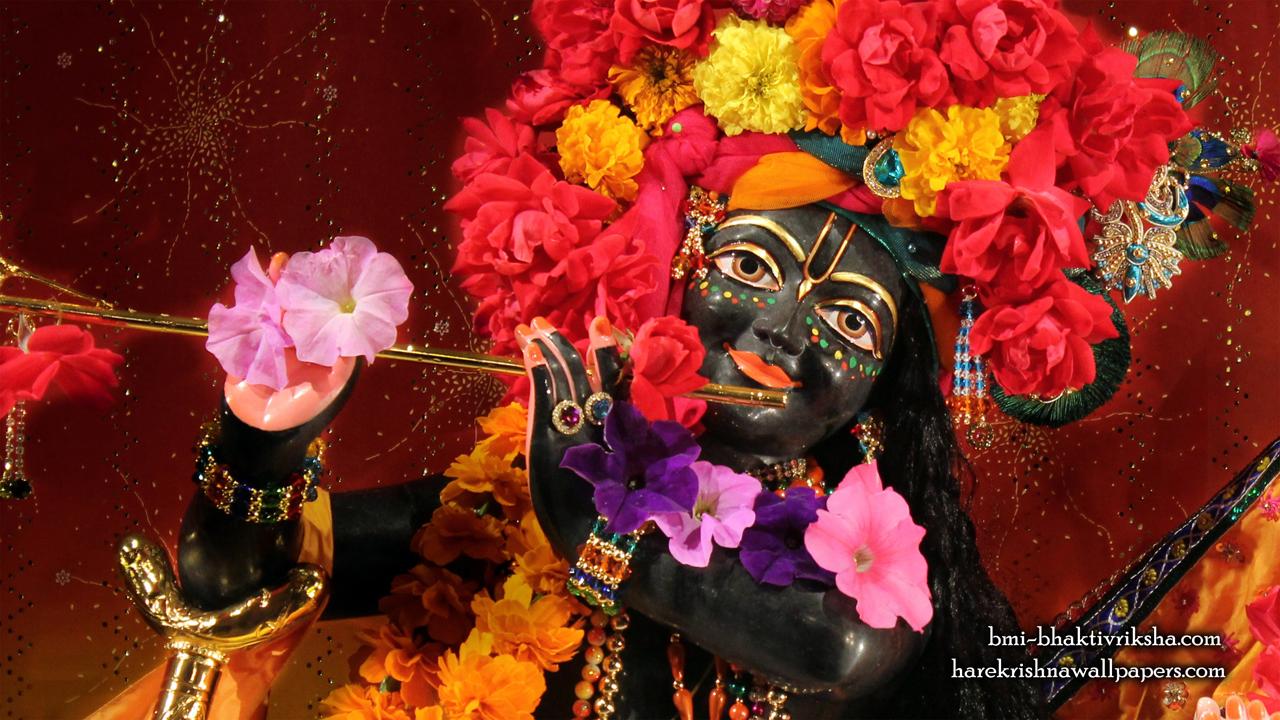 Sri Shyamsundar Close up Wallpaper (001) Size1280x720 Download