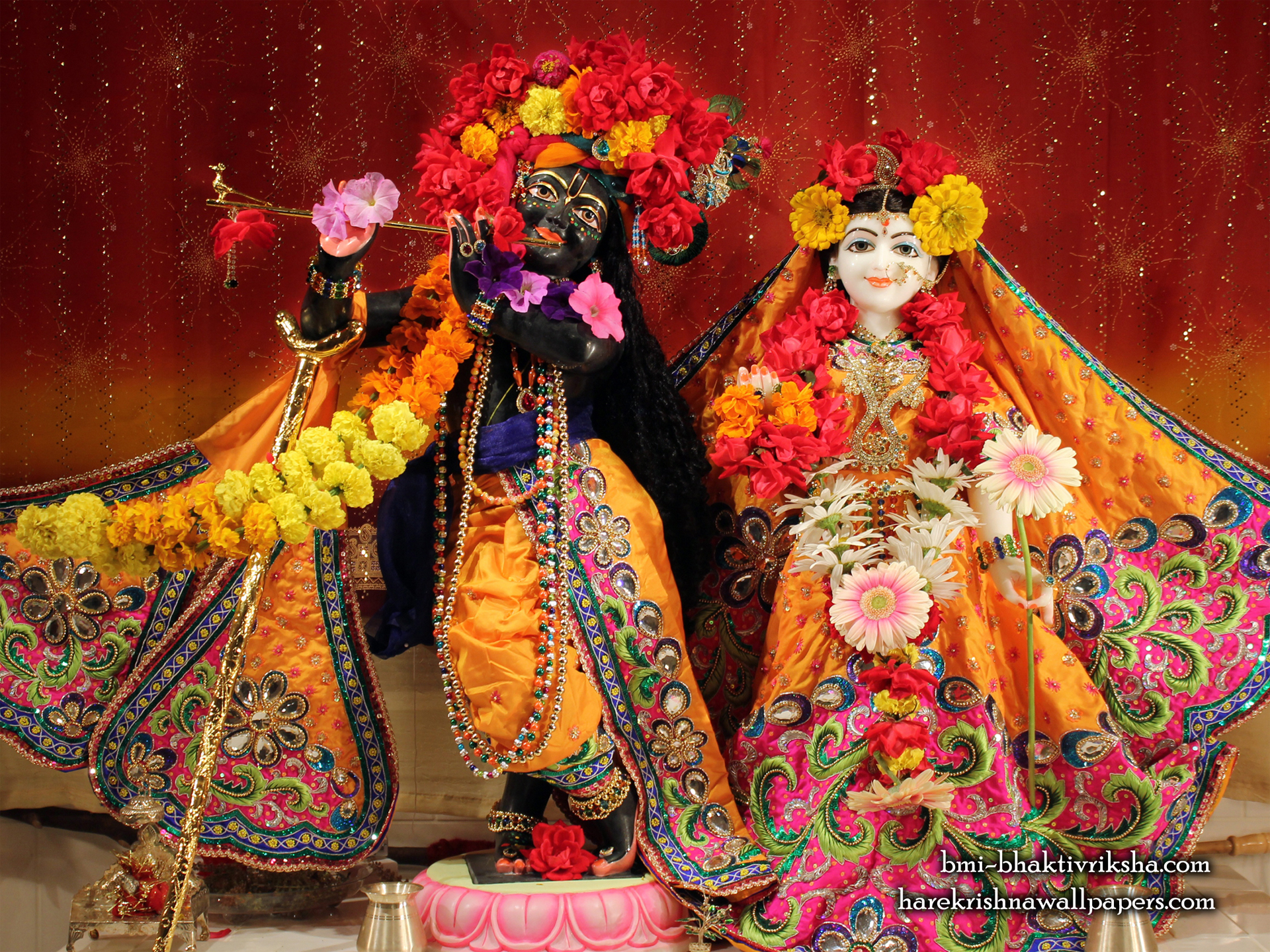 Sri Sri Radha Shyamsundar Wallpaper (001) Size 1920x1440 Download