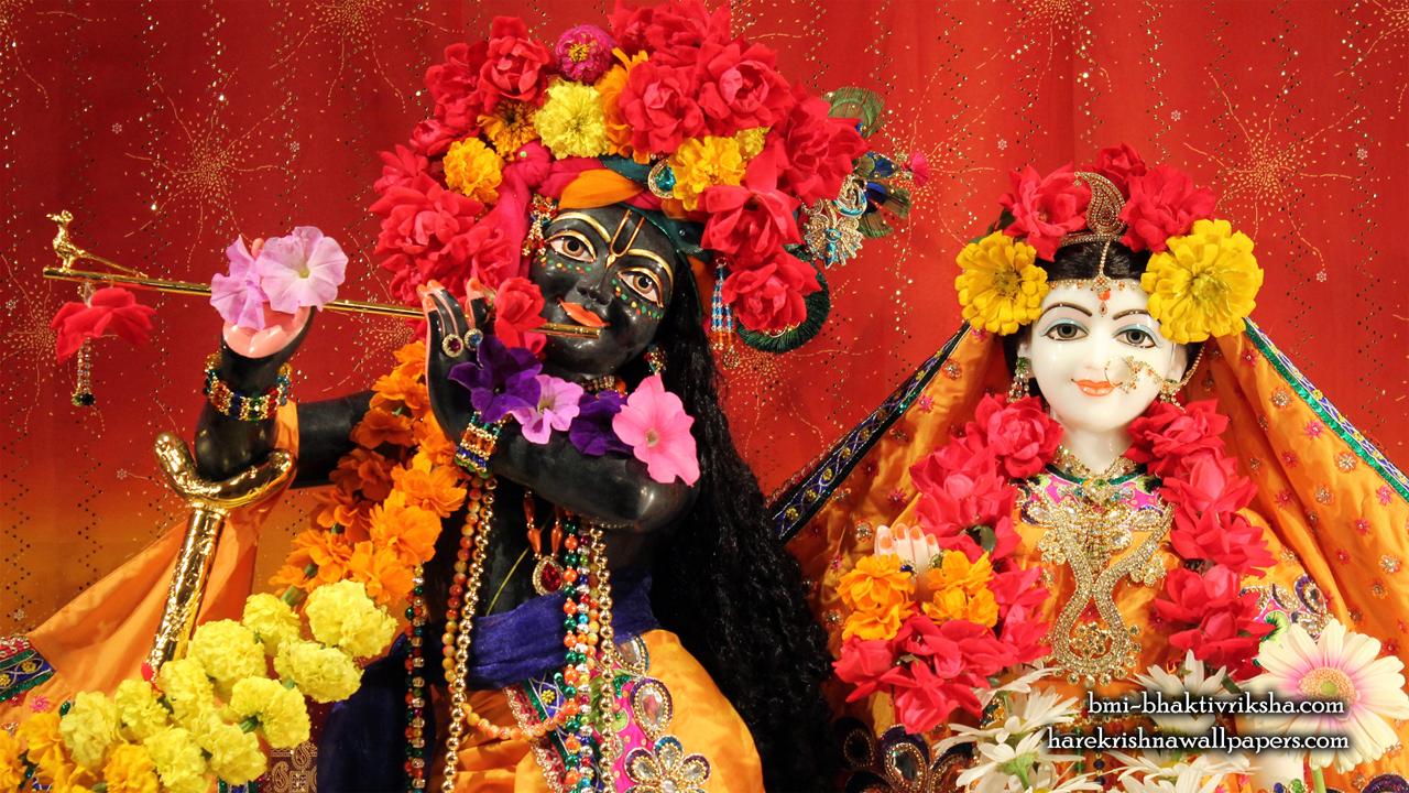Sri Sri Radha Shyamsundar Close up Wallpaper (001) Size1280x720 Download
