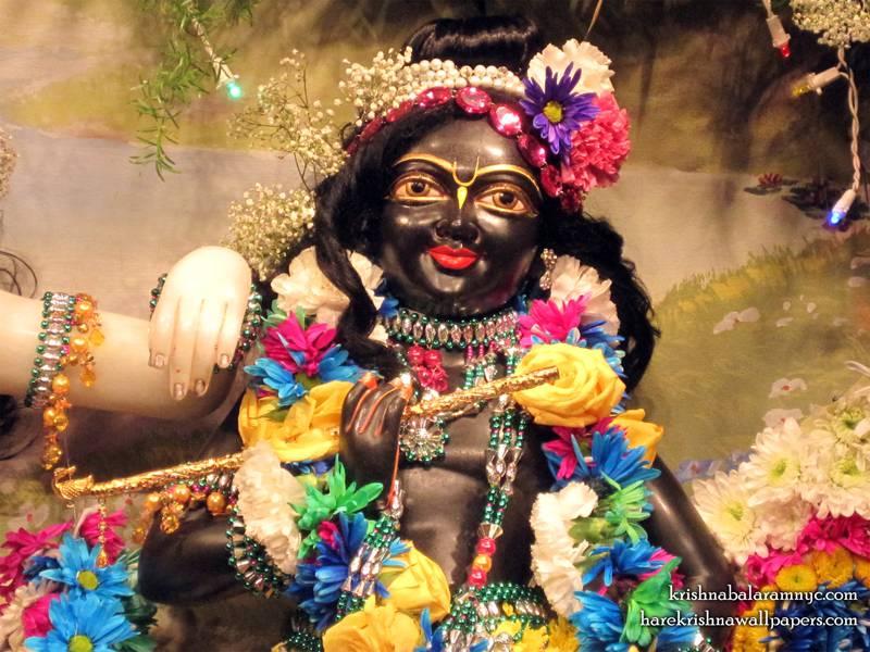 Sri Hari Close up Wallpaper (001)