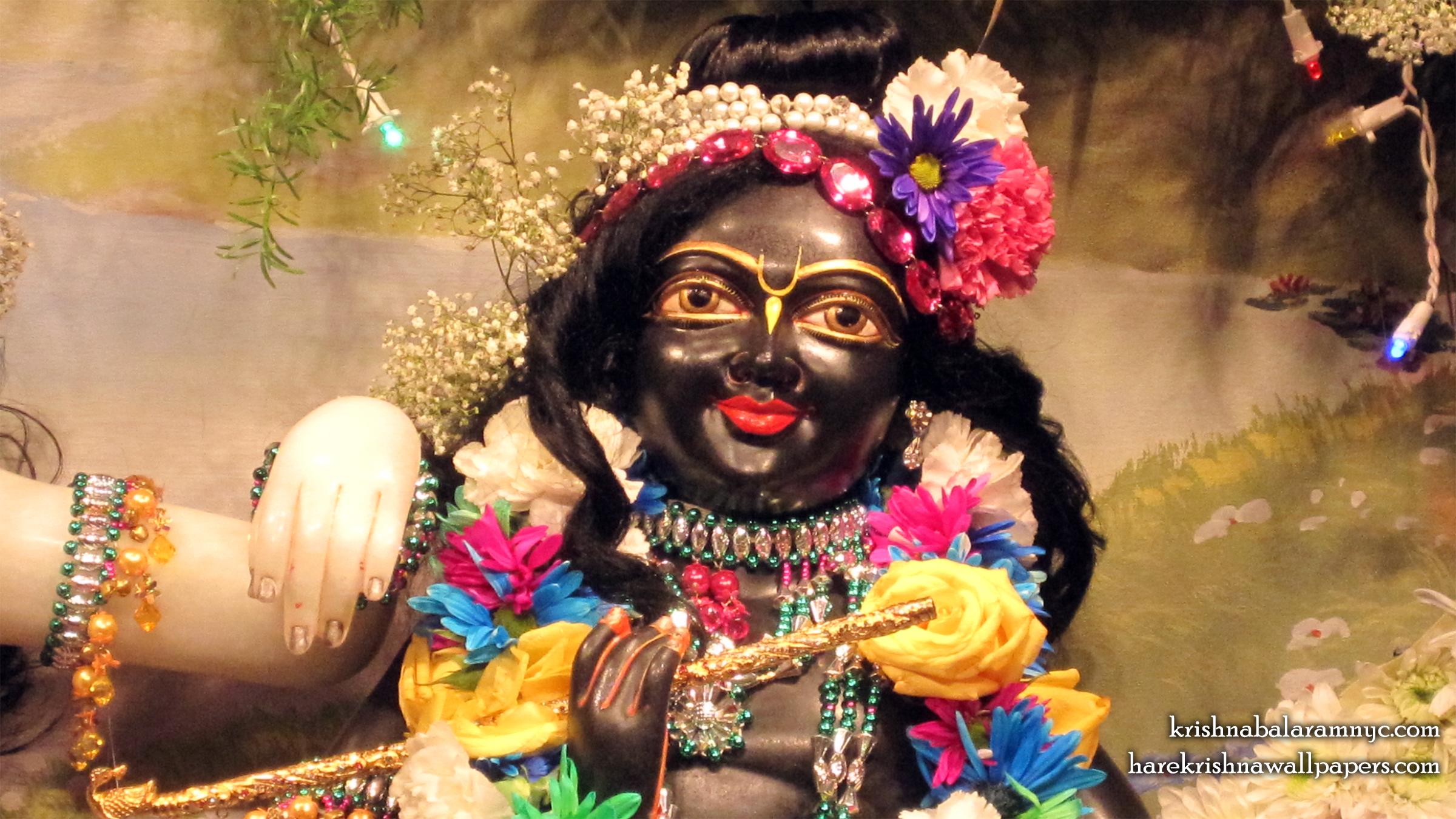 Sri Hari Close up Wallpaper (001) Size 2400x1350 Download